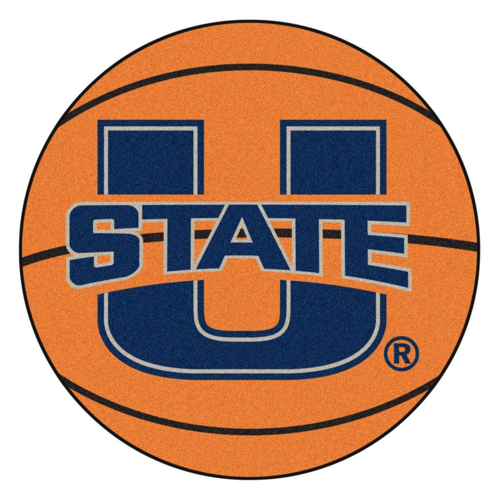 Utah State Aggies Basketball Area Rug Round area rugs
