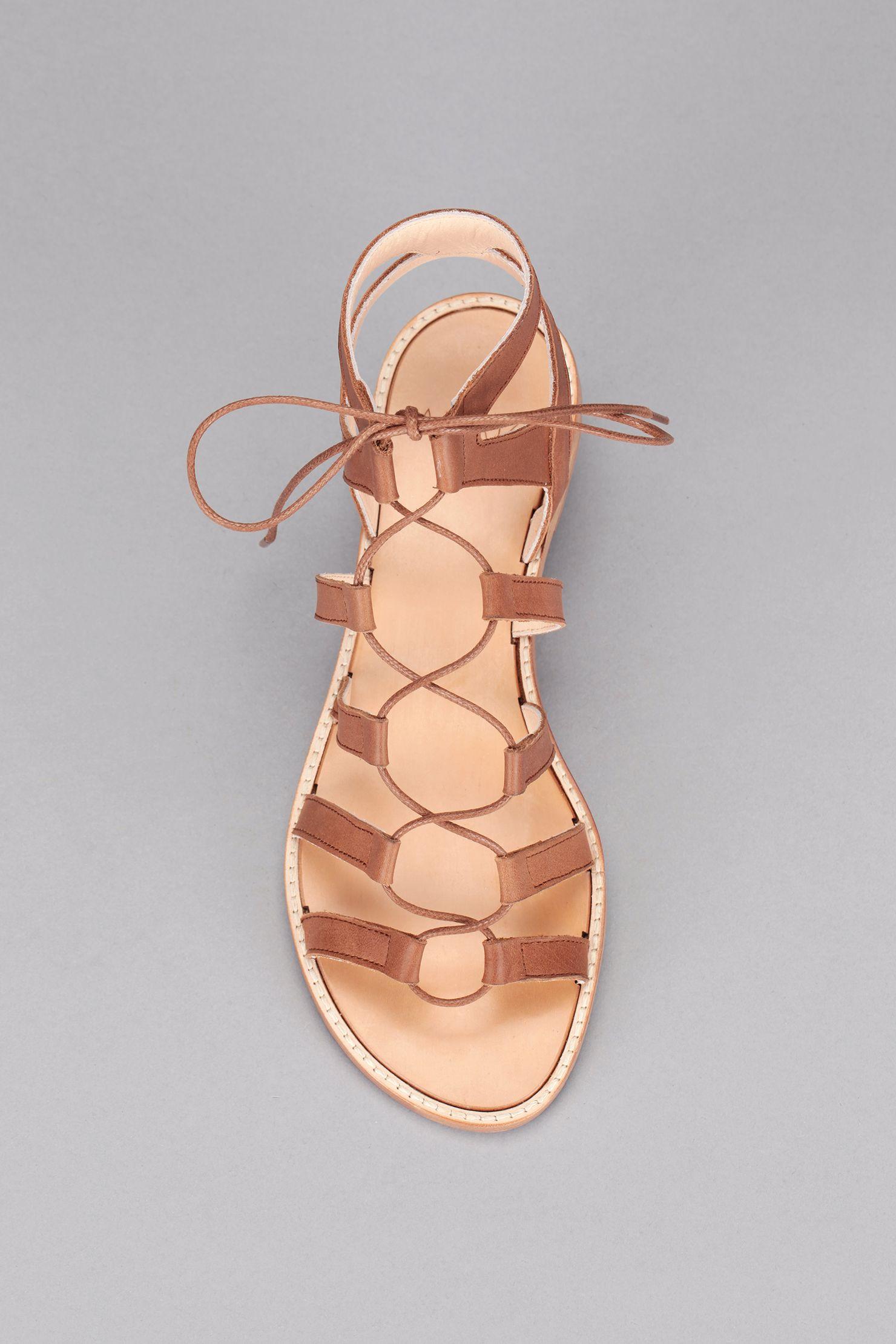 6a5d4fbc926d2 Spartiates cuir marron Arena | Shoes | Chaussure, Sandales ...