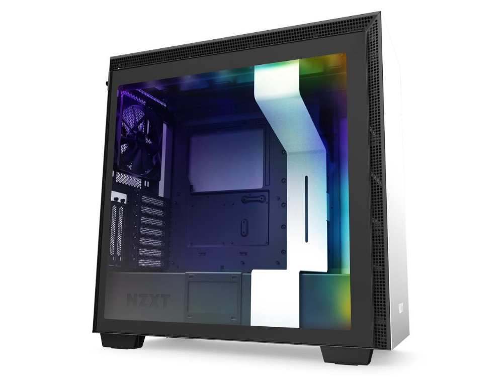 Nzxt H710i Atx Mid Tower Pc Gaming Case Front I O Usb Type C
