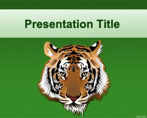 Tiger powerpoint template is a free template that can be used for ppt template toneelgroepblik Gallery