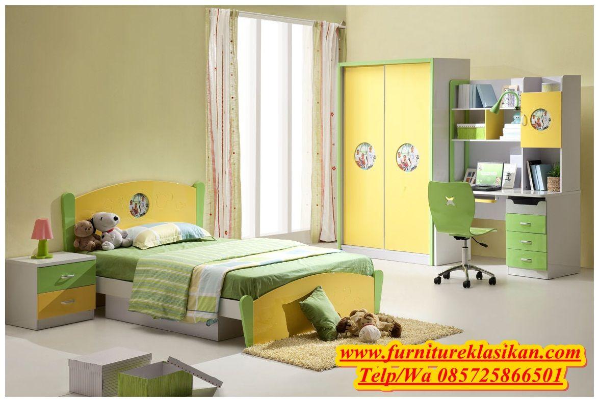 desain tempat tidur anak, desain tempat tidur karakter ...