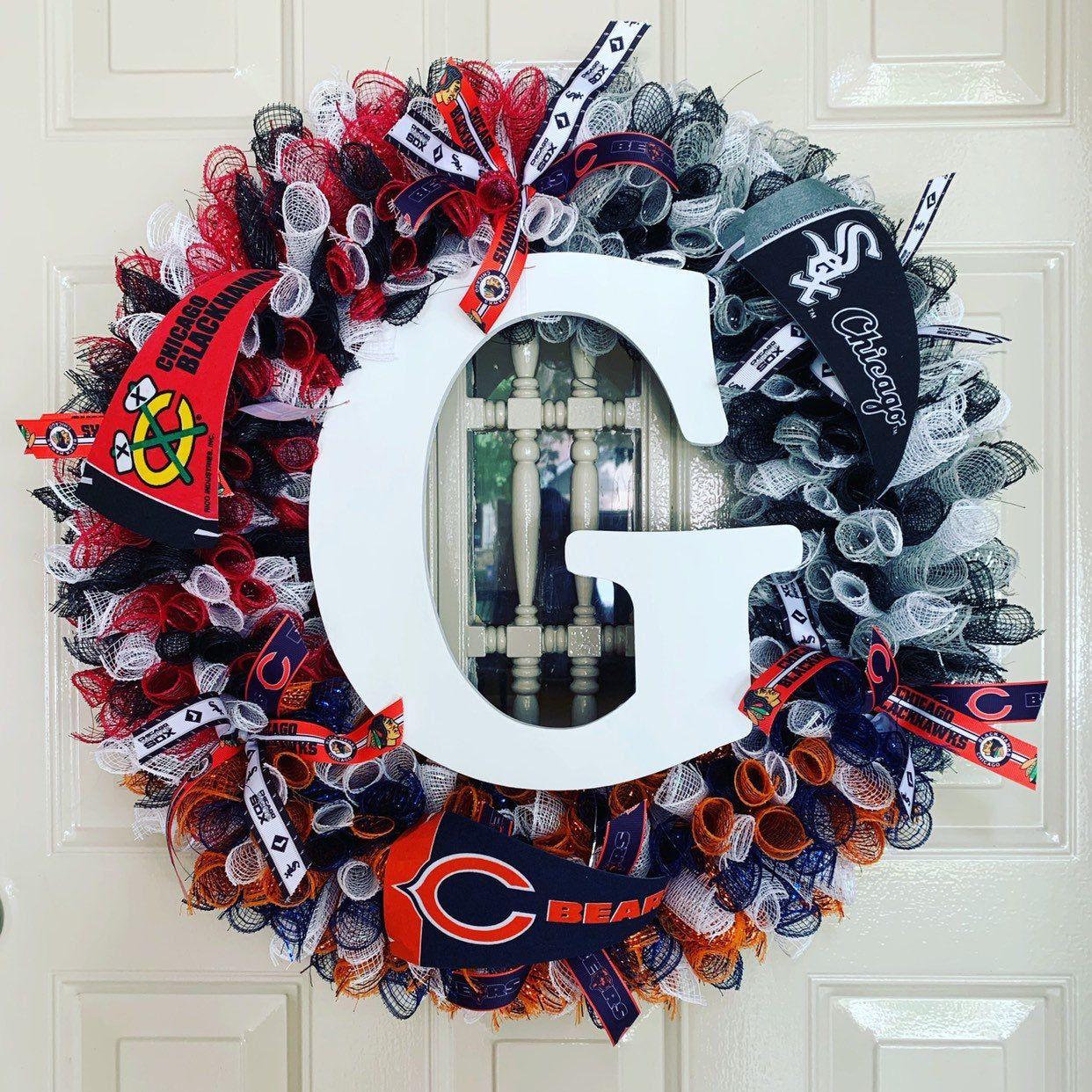 House Divided Wreath Custom Any Teams