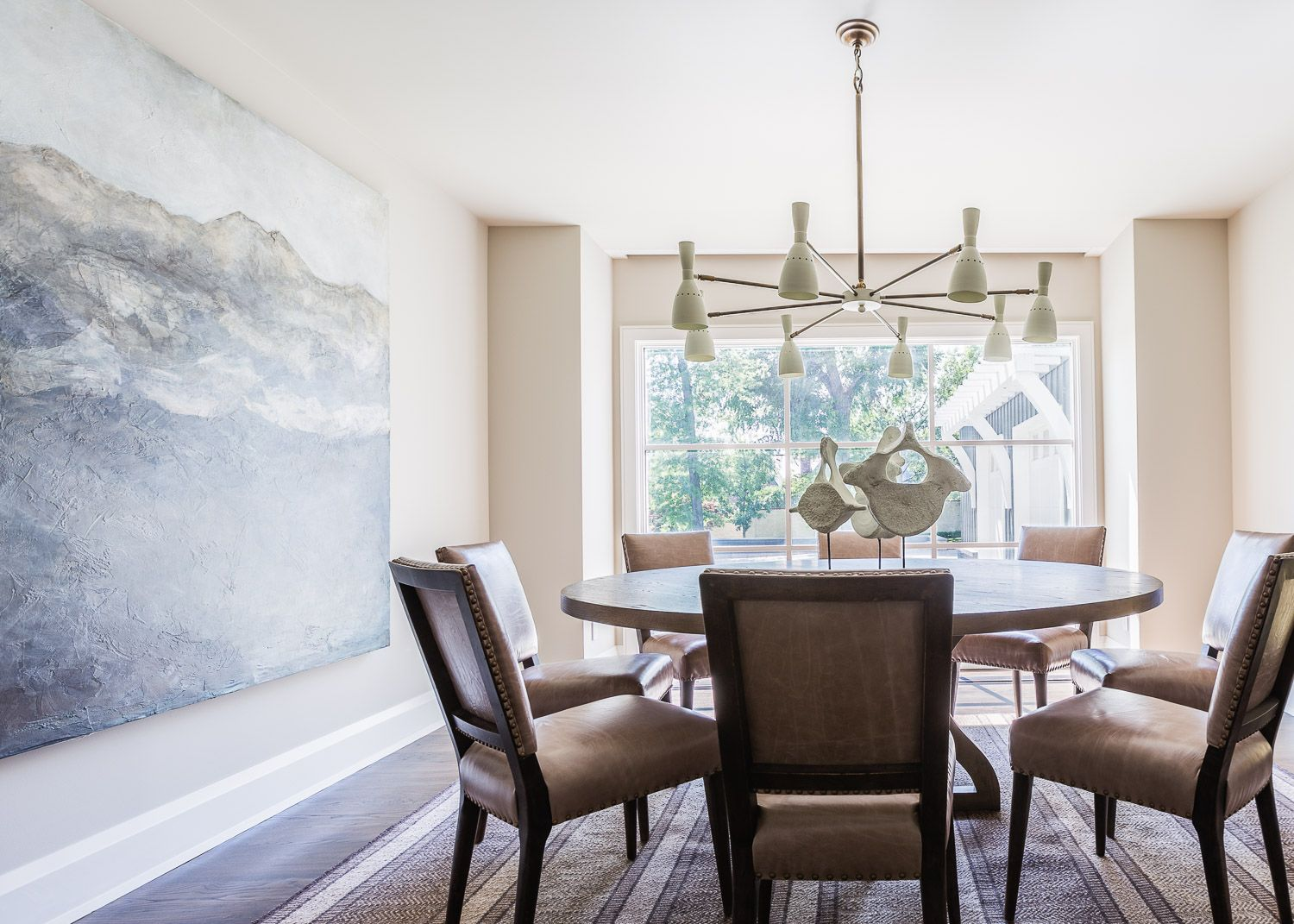 Modern and beautiful dining room. | Beautiful dining rooms ...