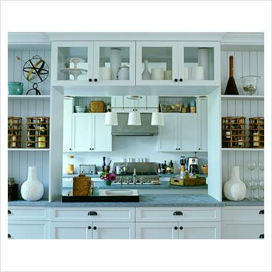 Gap Interiors Modern Kitchen With Serving Hatch Picture