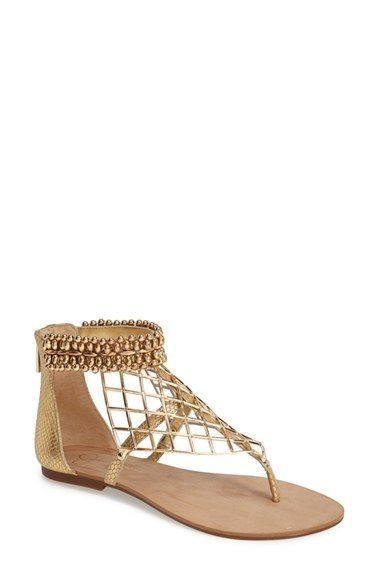 24157c248 Jessica Simpson 'Kyla' Beaded Thong Sandal (Women) available at #Nordstrom