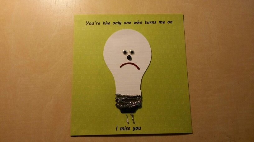 Miss you card. Used cricut cartridge wall decor and more for light ...