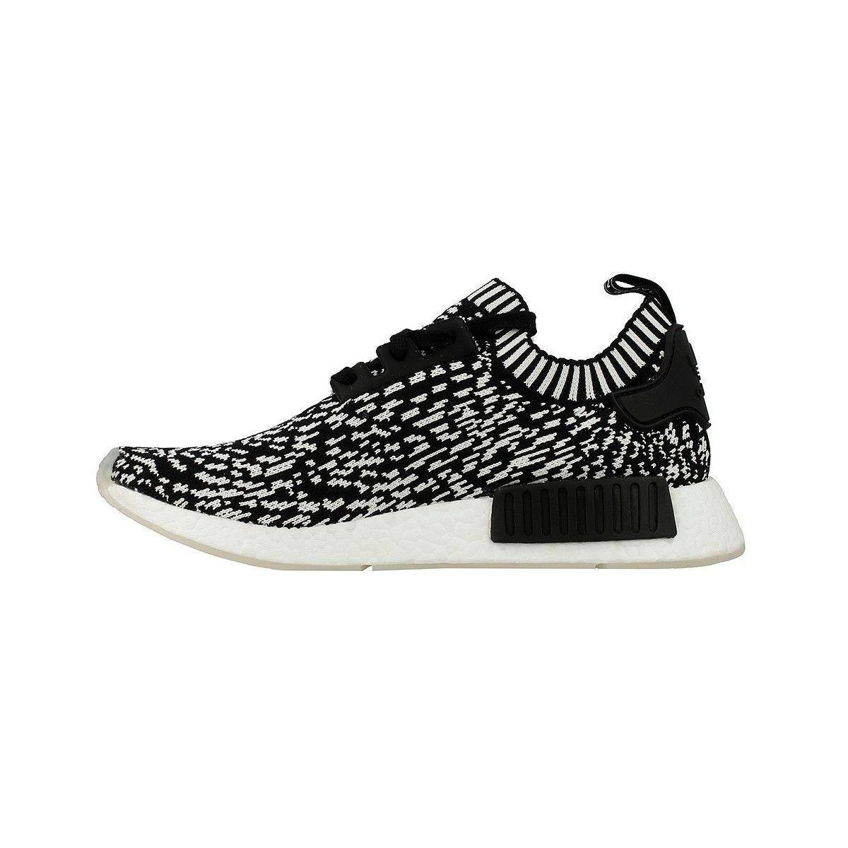 sélection premium 0adcb a591c Baskets Adidas Nmd R1 Pk Noir Blanc Femme - Taille : 41 1/3 ...