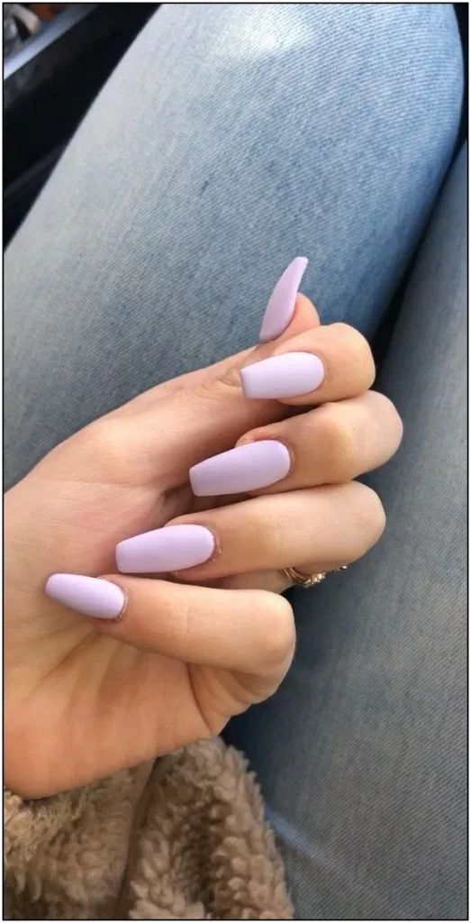 10 Spring Nails Coffin Pastel Ideas to Fancy Up Your Fingers