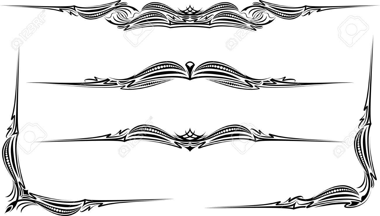 Image Result For Gothic Border Design Border Design Tribal Tattoos Border