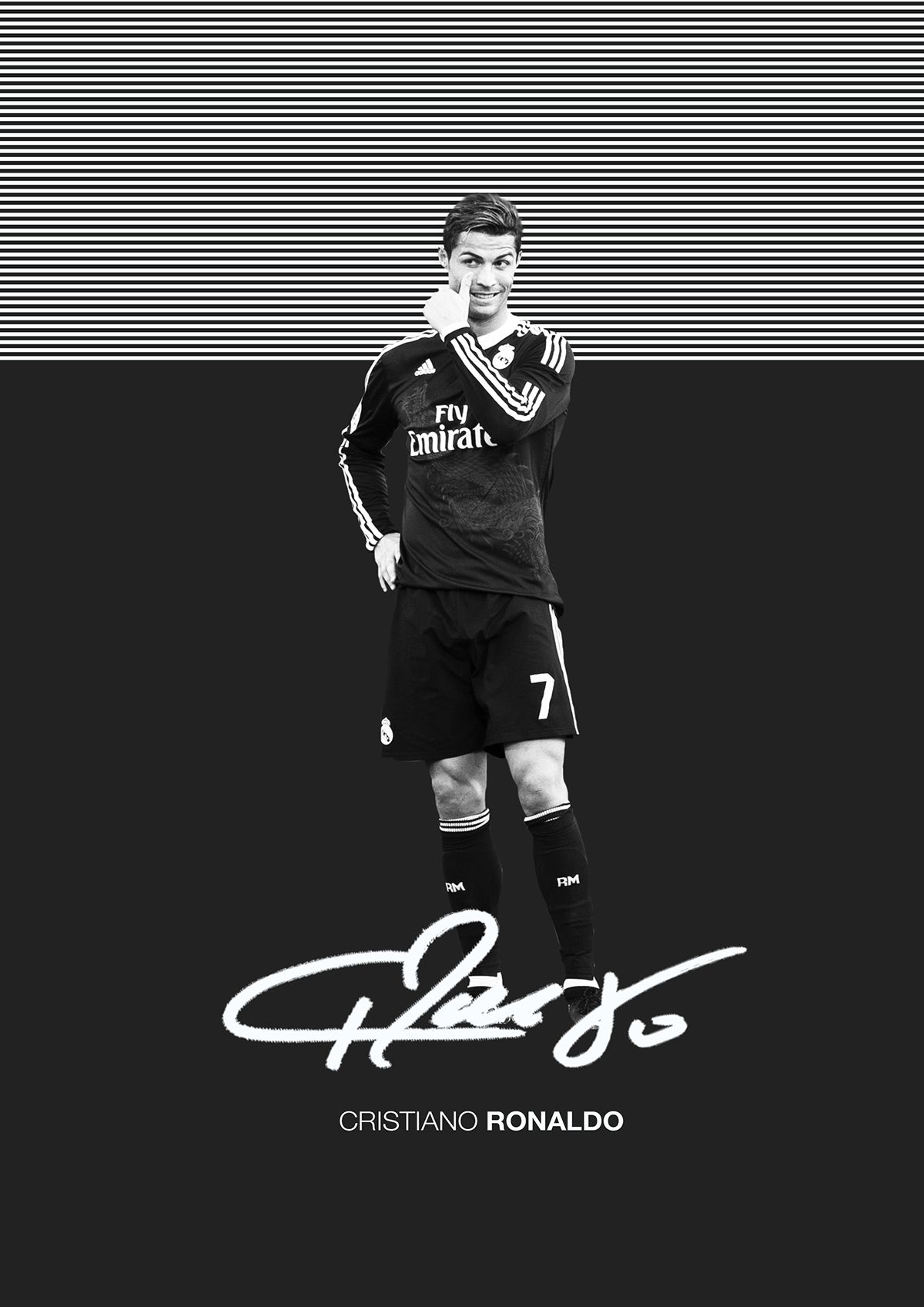 19deda49f The Signature Series on Behance Cristiano Ronaldo 7