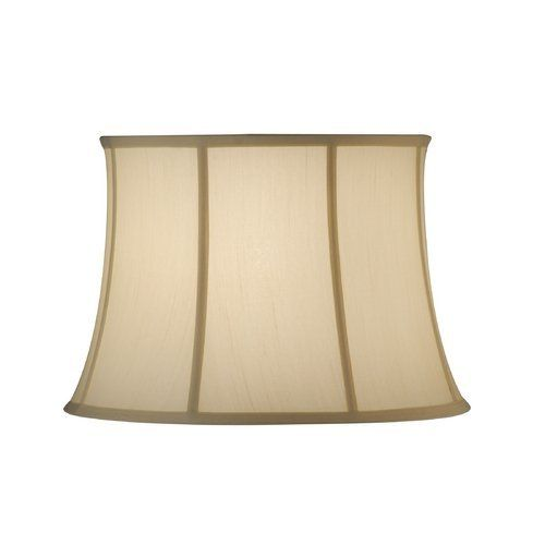Large eggshell silk round empire lamp shade from destination lighting by design 54 95 eggshell