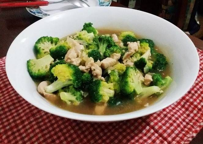 Resep Brokoli Cah Ayam Oleh Bernida Goin Resep Brokoli Makanan Dan Minuman Sayuran
