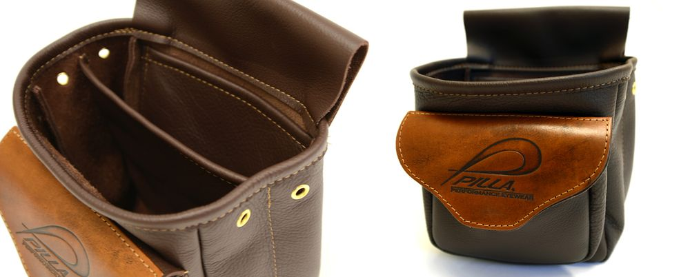 Clay Shooting 25 Shotgun Choke Or Cartridge Brown Leather Case Clay Shooting Gift
