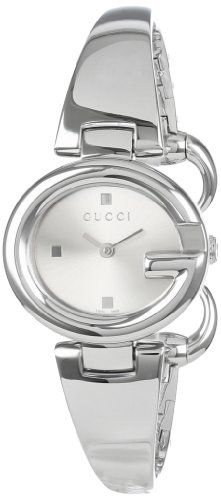 "Gucci Women's YA134502 ""Guccissima"" Stainless Steel Bangle Watch"