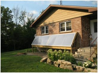 Rob S Solar Hot Water Project With Space Heating And Cooling