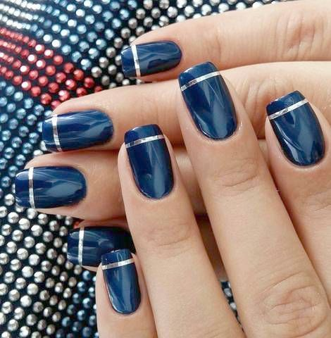 cutenails  simple nail designs pretty nail art