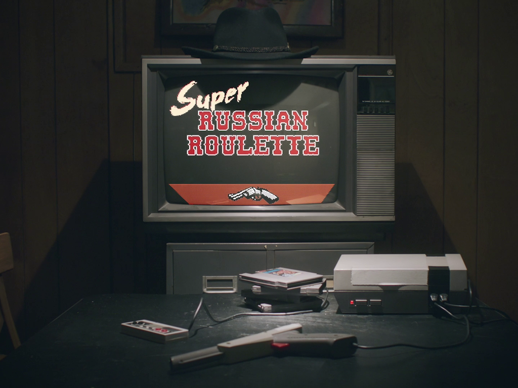 Super Russian Roulette A New Party Game for the NES