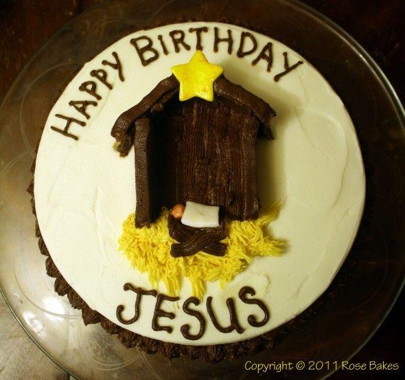 Happy Birthday Jesus Merry Christmas Cake Cake Pops Too