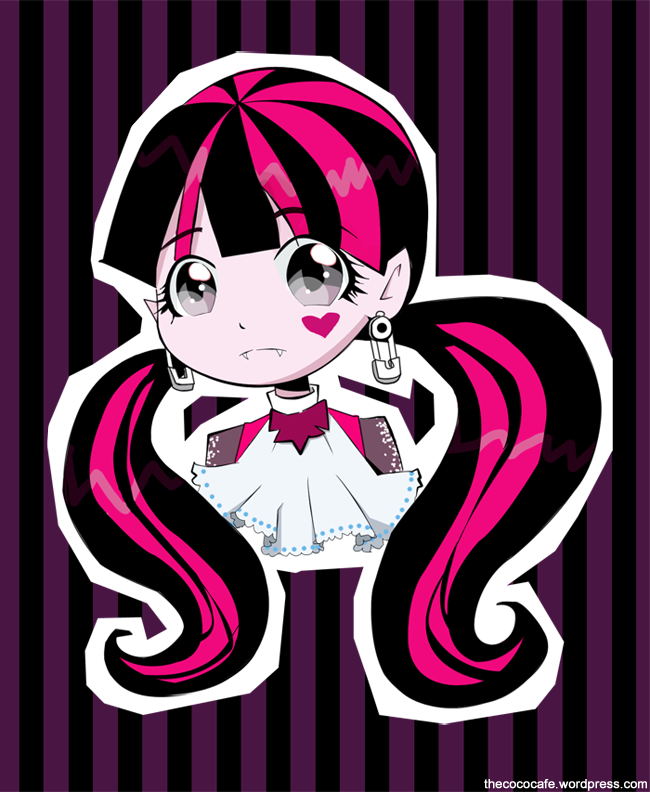 Draculaura by GIFH Draculaura, Anime images, Monster high