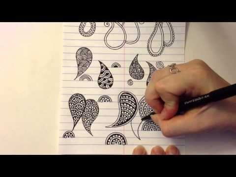 Mehndi Designs Alphabets : Paisley is a huge part of henna designs if you watch out for them