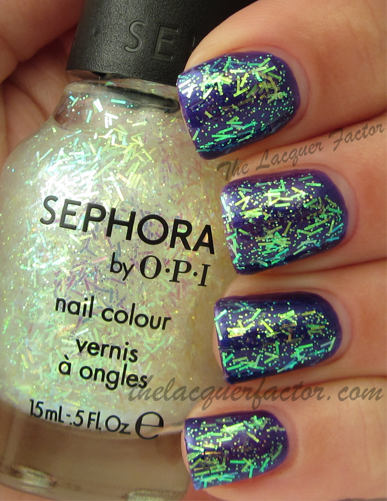 Sephora by @OPI Nail Hollywood If I Could | The Lacquer Factor Blog ...