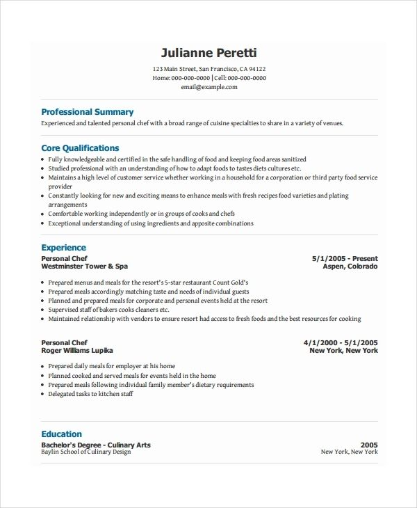 Awesome Personal Information Cv Template Collection Personal
