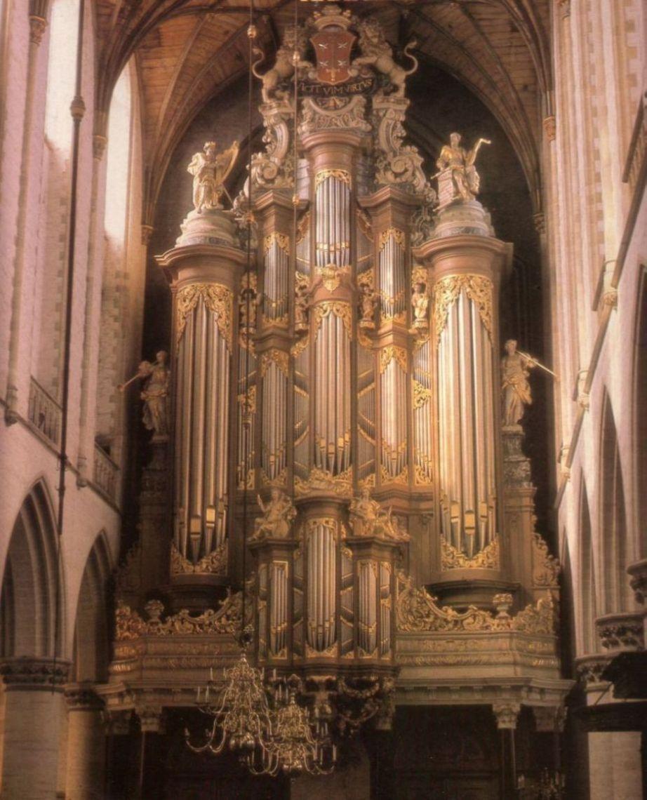 orgel st. bavo haarlem