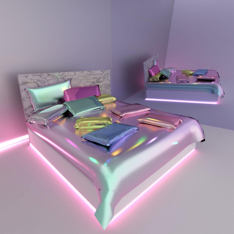Pin By Zara Schneider On K Girl Bedroom Designs Neon Room Room Ideas Bedroom