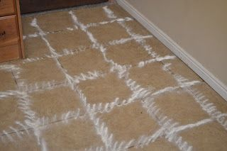 Tile Grout Cleaning Recipe: 1/2 Cup Vinegar 1/2 Cup Hydrogen Peroxide