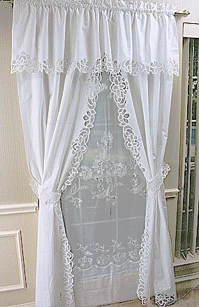 Great Battenburg Lace Curtains Ikuzo Curtain Lace Curtains Diy Curtains Curtains With Blinds