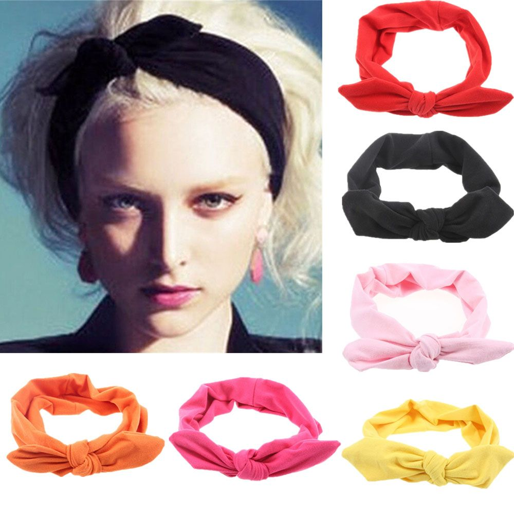 Apparel Accessories Cheap Price Patchwork Cross Headband Female Lady Top Knotted Hair Band Wide Turban Girls Simple Hair Hoop Women Hair Accessories Headwear Fashionable And Attractive Packages Girl's Hair Accessories