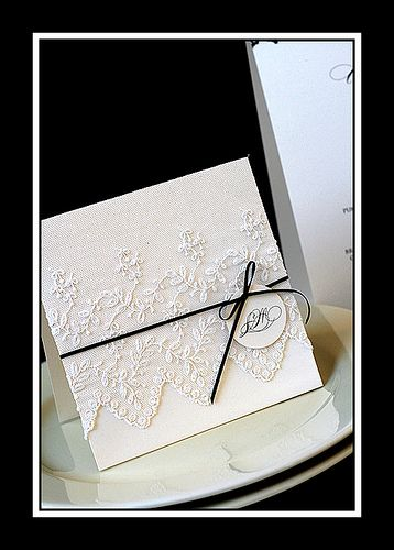 Lace Wedding Invitation Invitations Invitation Mariage Carte Simple Stil Des Invitation De Mariage