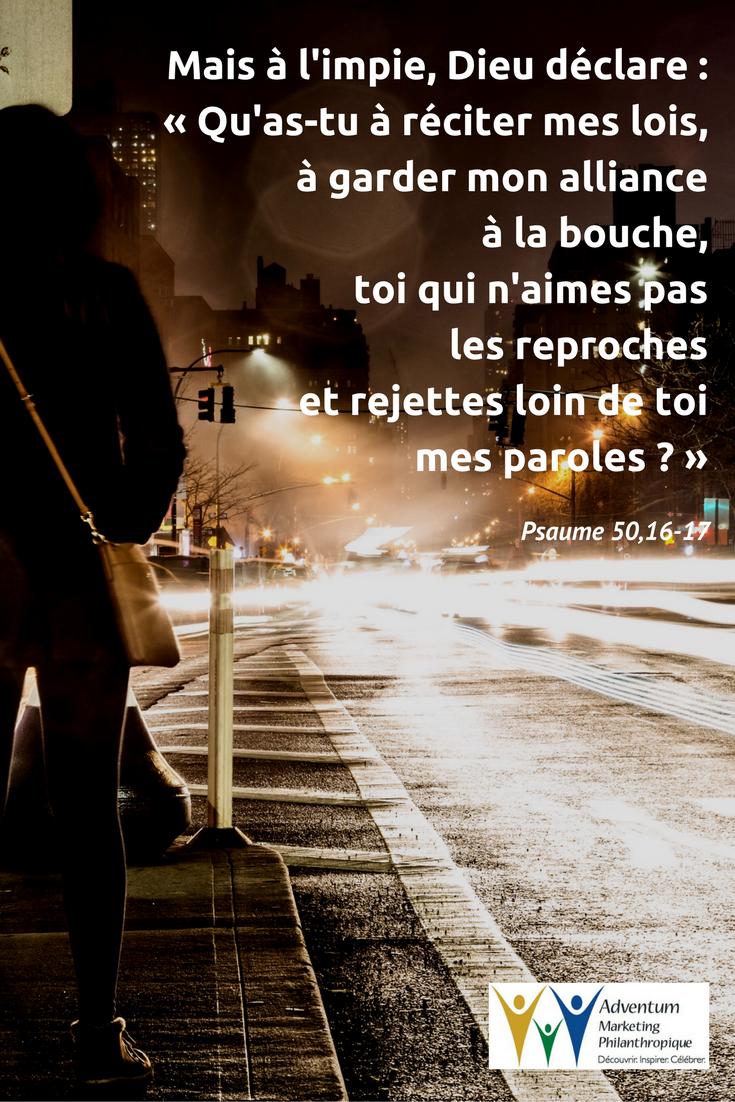 13 février 2017 – Psaume 50,16-17 | Psaumes, Psaume 50, Texte biblique