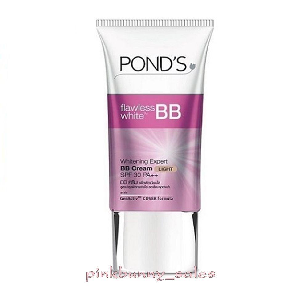 Ponds Flawless White Bb Cream Light Whitening Expert Spf 30 Pa Daily Moist 50g Ebay