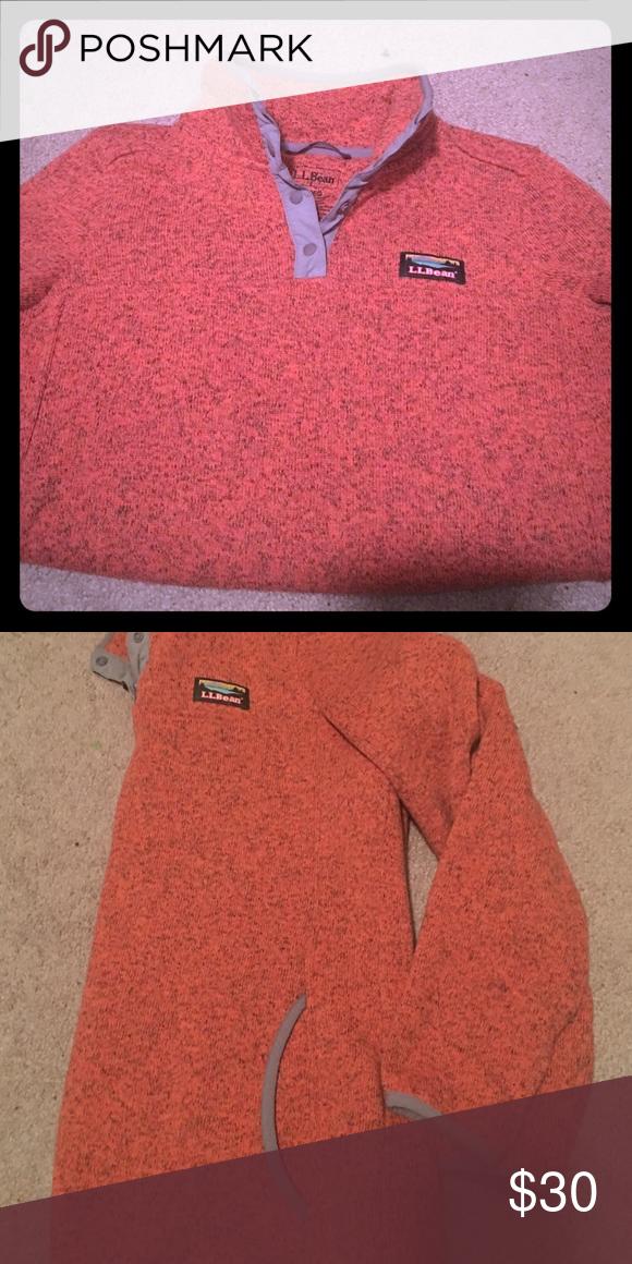 LL Bean Pink Sweatshirt In GREAT condition. Hardly ever worn. L.L. Bean Tops Sweatshirts & Hoodies