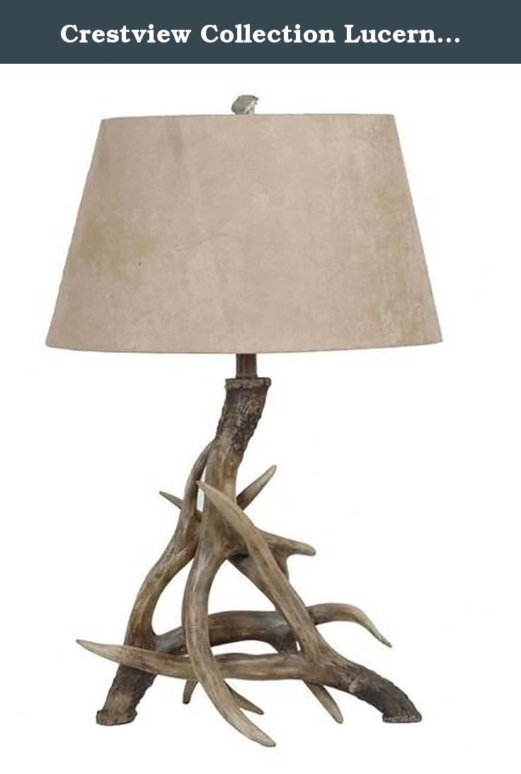 Crestview Collection Lucerne 1 Light Table Lamp , Black. This Crestview  Collection Table Lamp Will