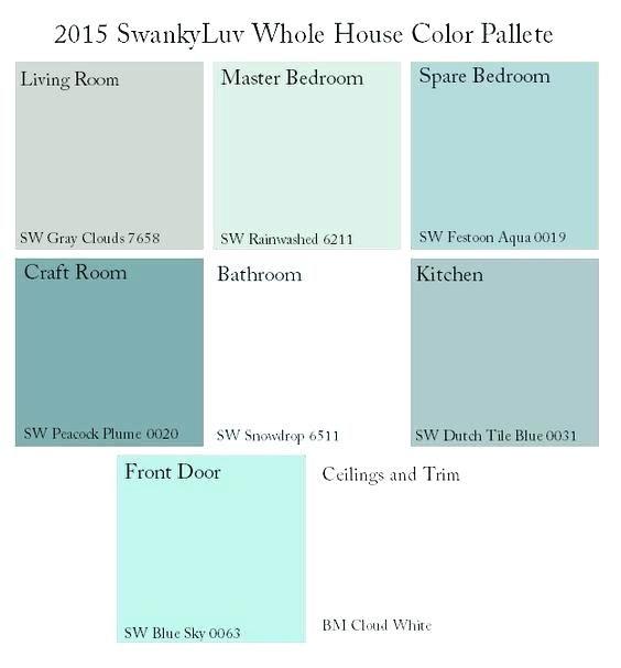 Beach House Interior Color Palette: Beach House Color Schemes Beach Cottage Exterior Color
