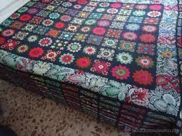 Resultado de imagen para colchas a crochet