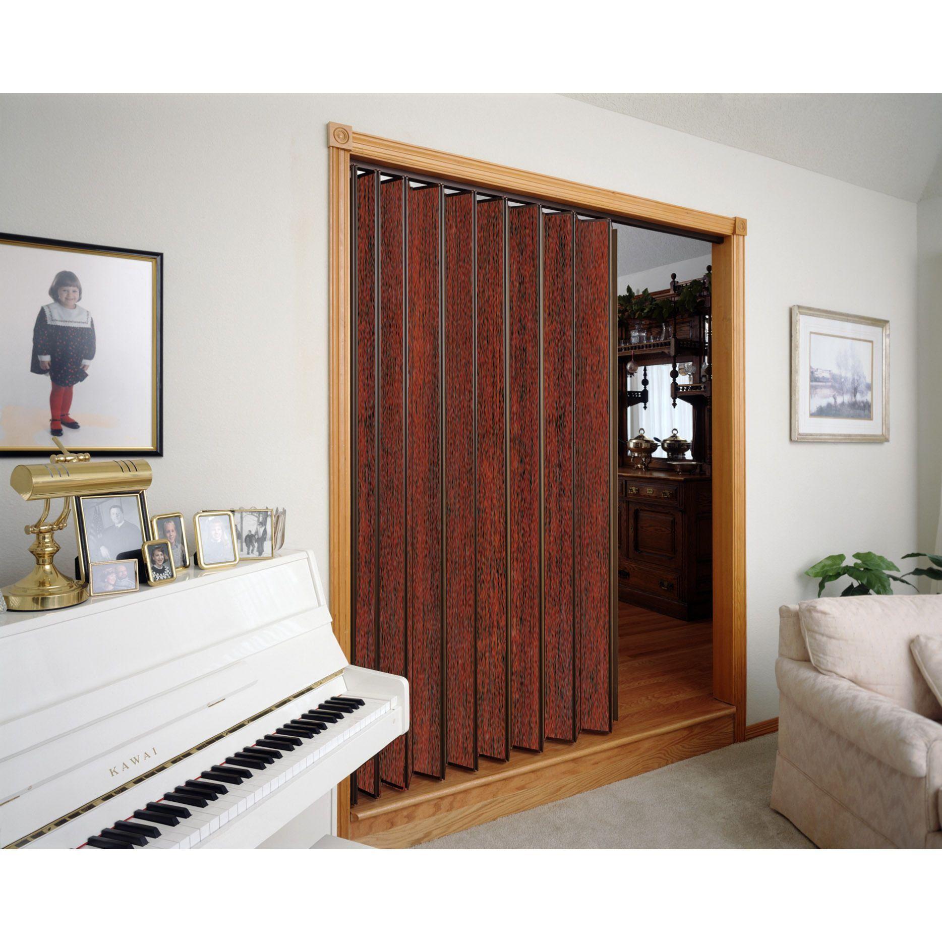 Spectrum Woodshire Mahogany Folding Door 48x80 Mahogany 48w X