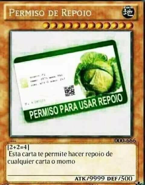 ƪ ƪ Cartas De Memes Carta De Poder Cartas Magicas