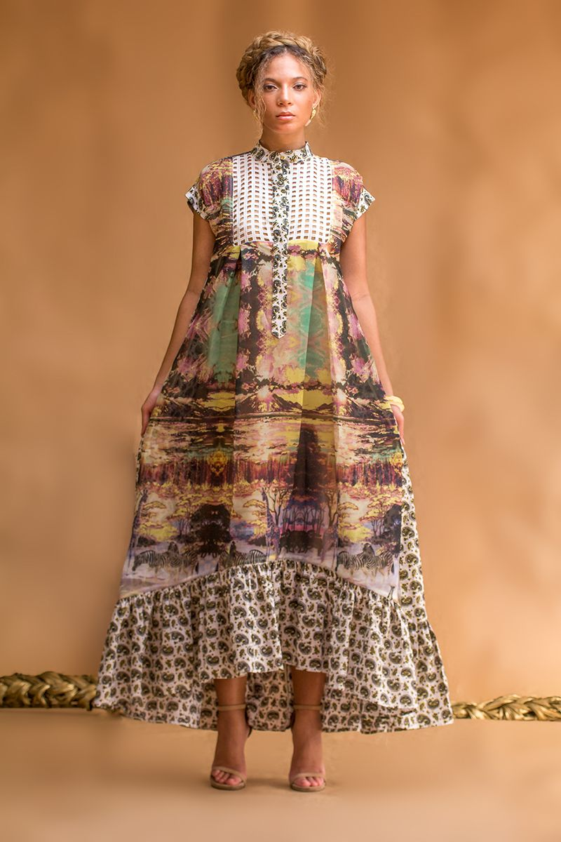 Christie Brown S Spring 2016 Collection Is Straight Off The 1800s Bellanaija In 2020 Fashion African Fashion African Fashion Designers