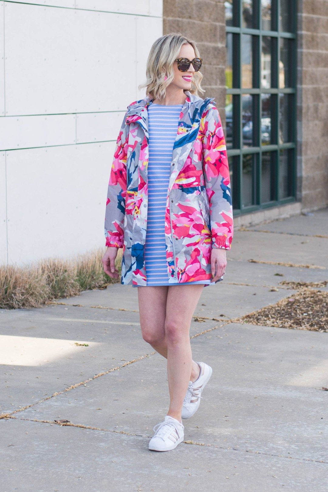 32f68d0da Joules rain coat and striped dress now available at Dillard s