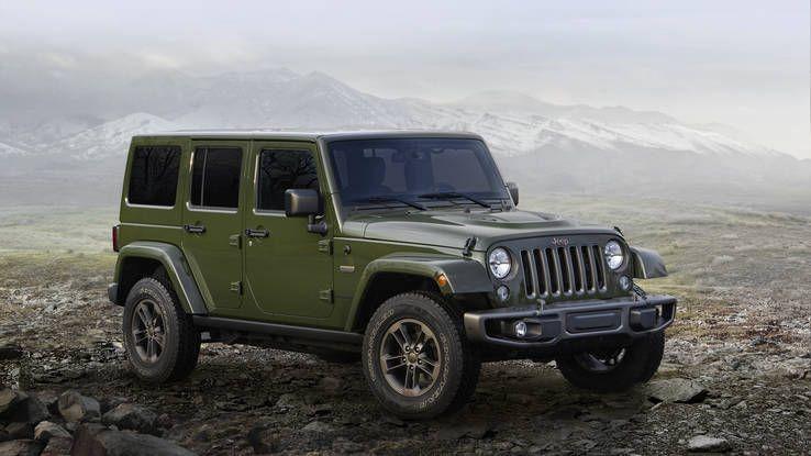 2016 Jeep Wrangler 75th Anniversary Alfaromeoclassiccars With