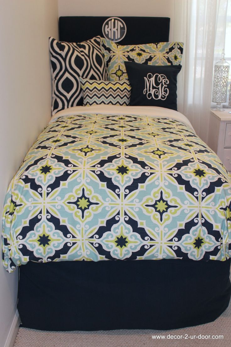 Design Your Own Dorm Room: Design Your Own Dorm Bedding. Pick Your Fabric And