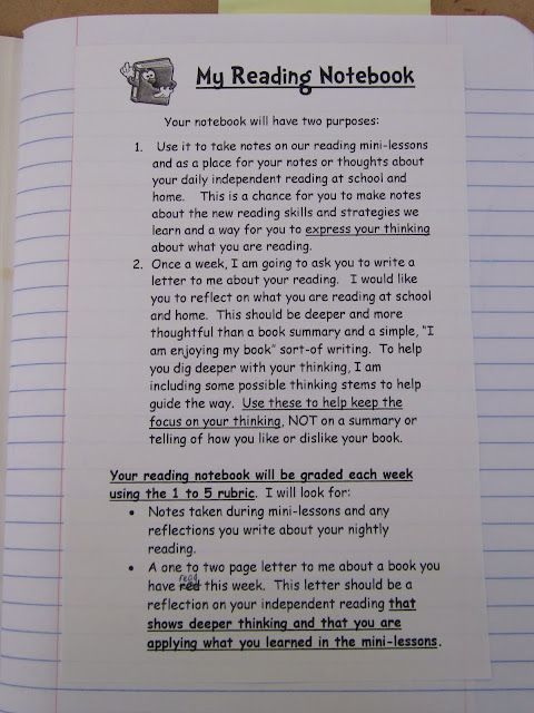Reading Notebooks