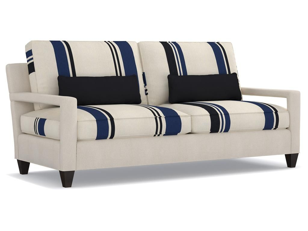 Cynthia Rowley For Furniture Living Room Varick 2 Over Sofa 7069 001cr