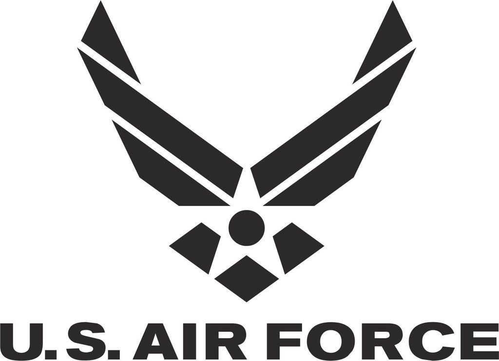 United States Air Force Vinyl Decal Usairforce Military