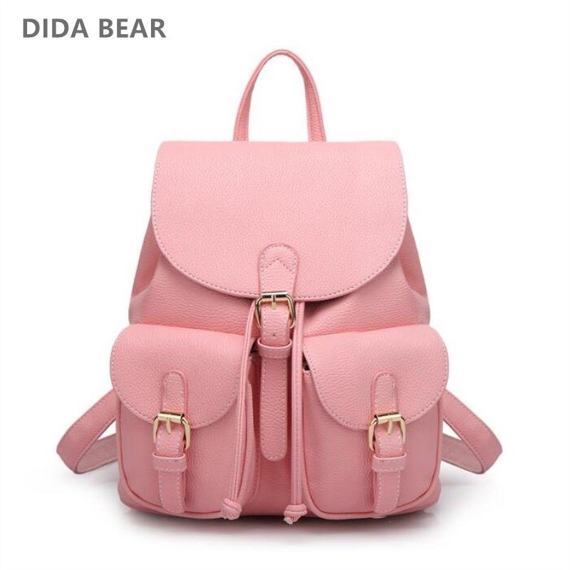 cf51b5518b9e8 Essa mochila rosa é super linda e elegante!!!