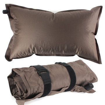 Only US$6.59, buy best Outdoor Inflatable Soft Pillow Cushion Automatic Air Pillow For Camping Hiking Travel sale online store at wholesale price.US/EU warehouse.