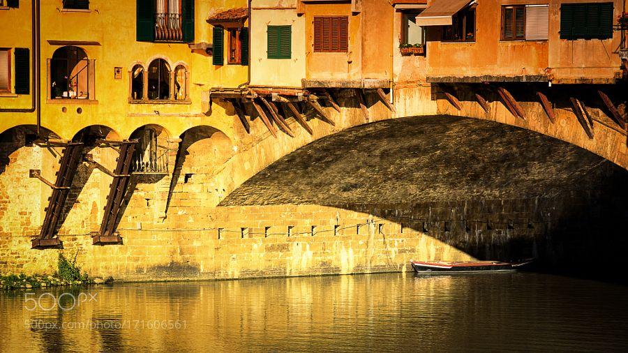 Ponte Vecchio by johnamm